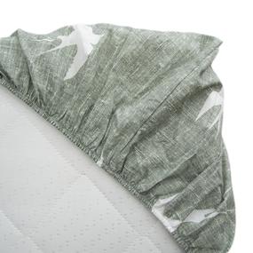 Простыня на резинке поплин 28289/2 Ласточки основа 90/200/20 см фото