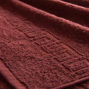 Полотенце махровое Туркменистан 50/90 см цвет горячий шоколад фото