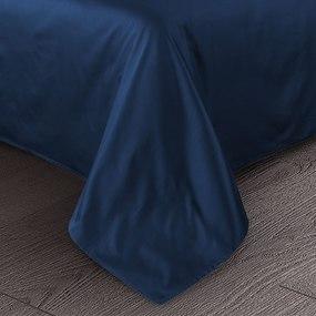 Ткань на отрез сатин гладкокрашеный 240 см 86350/10 цвет синий фото