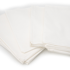 Полотенце вафельное отбеленное 200 гр/м2 упаковка 5 шт 45/60 см фото