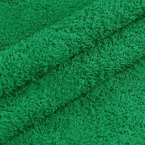 Махровая ткань 220 см 430гр/м2 цвет зеленый фото