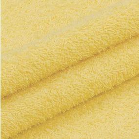 Махровая ткань 220 см 430гр/м2 цвет светло-желтый фото