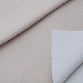 Маломеры футер 3-х нитка компакт пенье начес цвет кремовый 2 м фото