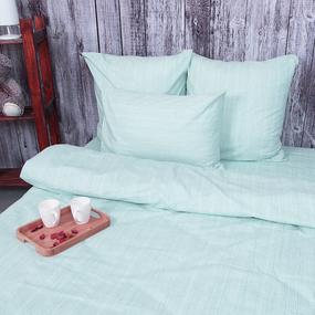Пододеяльник из перкаля 204936 Эко 6 светло-бирюзовый, 1,5 спальный фото