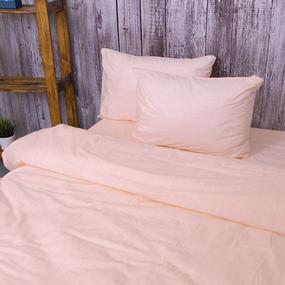 Пододеяльник из перкаля 204934 Эко 4 персиковый, 2-x спальный фото