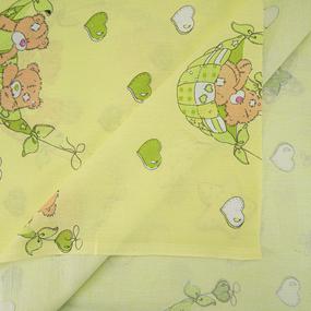 Ткань на отрез бязь 120 гр/м2 детская 150 см Мишки Тедди фото