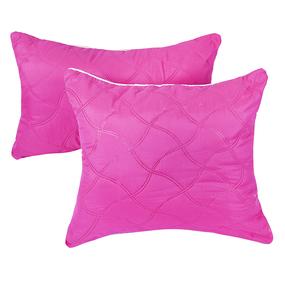Подушка декоративная чехол шелк ультрастеп розовый 40/60 фото