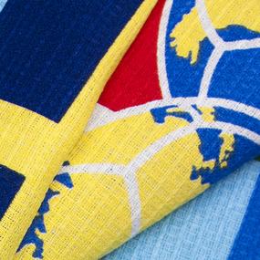 Полотенце вафельное пляжное 10979/1 Спорт 150/75 см фото
