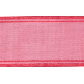 Лента для бантов ширина 80 мм (25 м) цвет малина фото