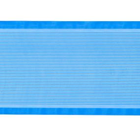 Лента для бантов ширина 80 мм (25 м) цвет синий фото