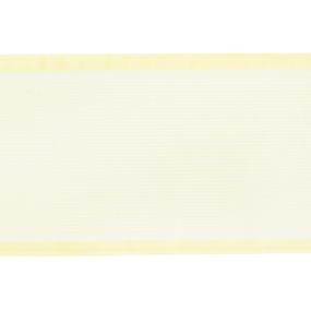 Лента для бантов ширина 80 мм (25 м) цвет желтый фото