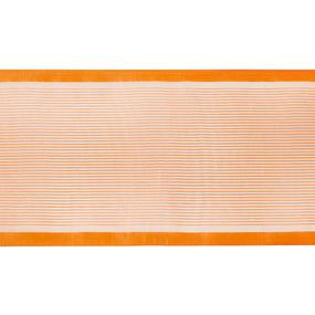 Лента для бантов ширина 80 мм (25 м) цвет оранжевый фото