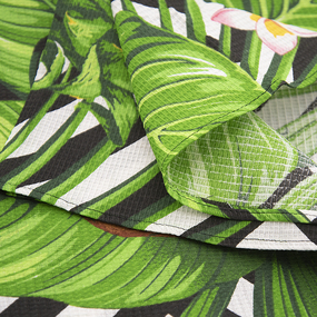 Полотенце вафельное пляжное 3030-1 Ананас 150/75 см фото