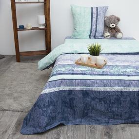 Постельное белье из бязи 10930/1 Флорида 2-х сп с евро простыней фото