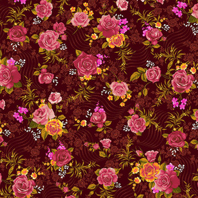 Ткань на отрез фланель Престиж 150 см 21210/2 Роза фото