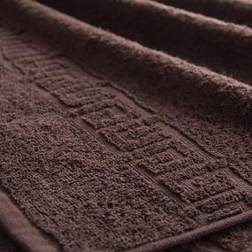Полотенце махровое Туркменистан 70/140 см цвет шоколад BROWN фото