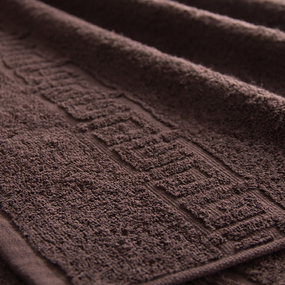Полотенце махровое Туркменистан 100/175 см цвет шоколад фото