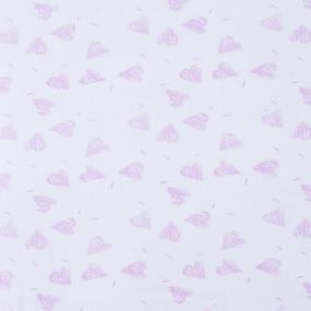 Ткань на отрез интерлок Сердца Т513/1 фото