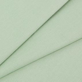 Ткань на отрез поплин гладкокрашеный 220 см 115 гр/м2 цвет фисташка фото