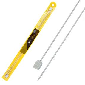 Спицы для вязания прямые Maxwell Gold Тефлон 6507 2,0 мм 35 см 2 шт фото