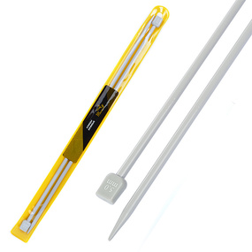 Спицы для вязания прямые Maxwell Gold Тефлон 6538 5,0 мм 35 см 2 шт фото