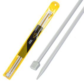Спицы для вязания прямые Maxwell Gold Тефлон 6569 7,0 мм 35 см 2 шт фото