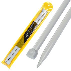 Спицы для вязания прямые Maxwell Gold Тефлон 6613 15,0 мм 35 см 2 шт фото