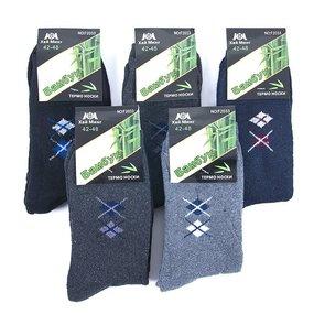 Мужские носки теплые F2033 Хай Минг размер 42-48 фото