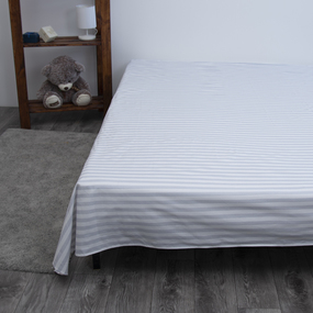 Постельное белье из поплина 771-2 Ля-Мурр серый Семейный фото