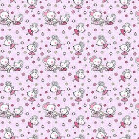 Бязь 120 гр/м2 детская 150 см 1953/3 цвет розовый фото