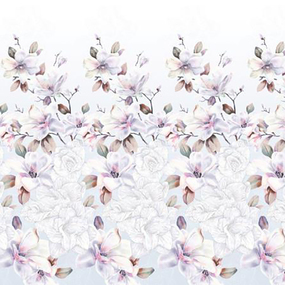 Ткань на отрез бязь Премиум 220 см 6466/1 Скарлетт фото