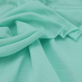 Ткань на отрез кулирка М-2064 цвет ментол фото