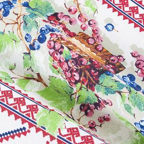 Набор полотенец рогожка 3 шт 35/70 см 10729/1 Сладкая ягода фото