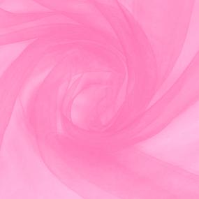 Мерный лоскут вуаль 280 см цвет 17 роза фото