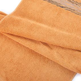 Полотенце махровое Sunvim 18В-2 Сафари 50/90 см цвет оранжевый фото