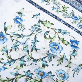 Полотенце махровое Sunvim Византия 68/136 см цвет голубой фото
