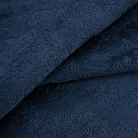 Ткань на отрез велсофт Orrizonte 300 гр/м2 200 см 3070 цвет синий фото