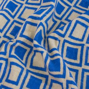 Одеяло полушерсть 500 гр/м2 цвет синий 150/200 см фото