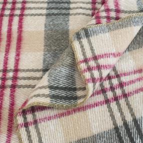 Одеяло п/ш (полушерсть) детское 420 гр/м2 полоса цвет бордо 100/140 см фото