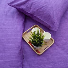 Пододеяльник из перкаля 2049310 Эко 10 фиолетовый, 1,5 спальный фото