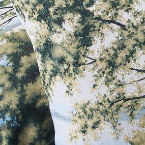Наволочка гобелен декоративная 45/45 см Пейзаж фото