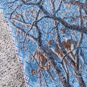 Наволочка гобелен декоративная 35/55 см Зима 1 фото