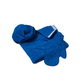 Набор для сауны женский цвет василек фото