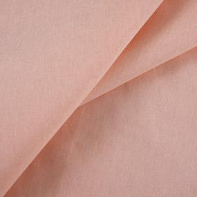 Мерный лоскут бязь гладкокрашеная 120гр/м2 150 см цвет персик фото