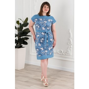 Платье 0912-54 цвет Индиго р 60 фото