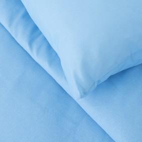 Постельное белье бязь Голубой 1.5 сп с 1-ой нав. 70/70 фото