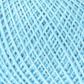 Нитки для вязания Ирис 100% хлопок 25 гр 150 м цвет 3006 бирюза фото