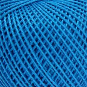 Нитки для вязания Ирис 100% хлопок 25 гр 150 м цвет 3010 темно-бирюзовый фото