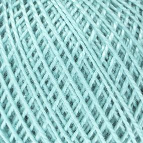 Нитки для вязания Ирис 100% хлопок 25 гр 150 м цвет 3506 серовато-нефритовый фото