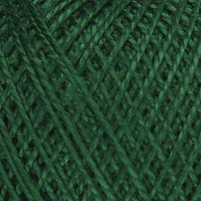 Нитки для вязания Ирис 100% хлопок 25 гр 150 м цвет 3807 темно-зеленый фото